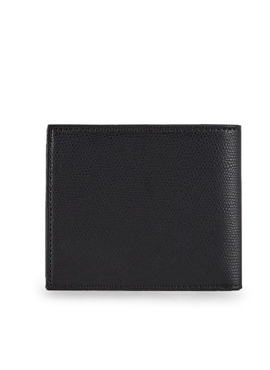 Emporio Armani Y4R168 Logo Baskılı Polyester Erkek Cüzdan Siyah